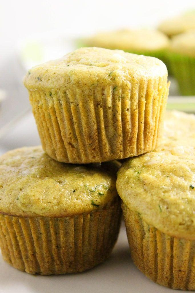 Zucchini Cream Cheese Muffins