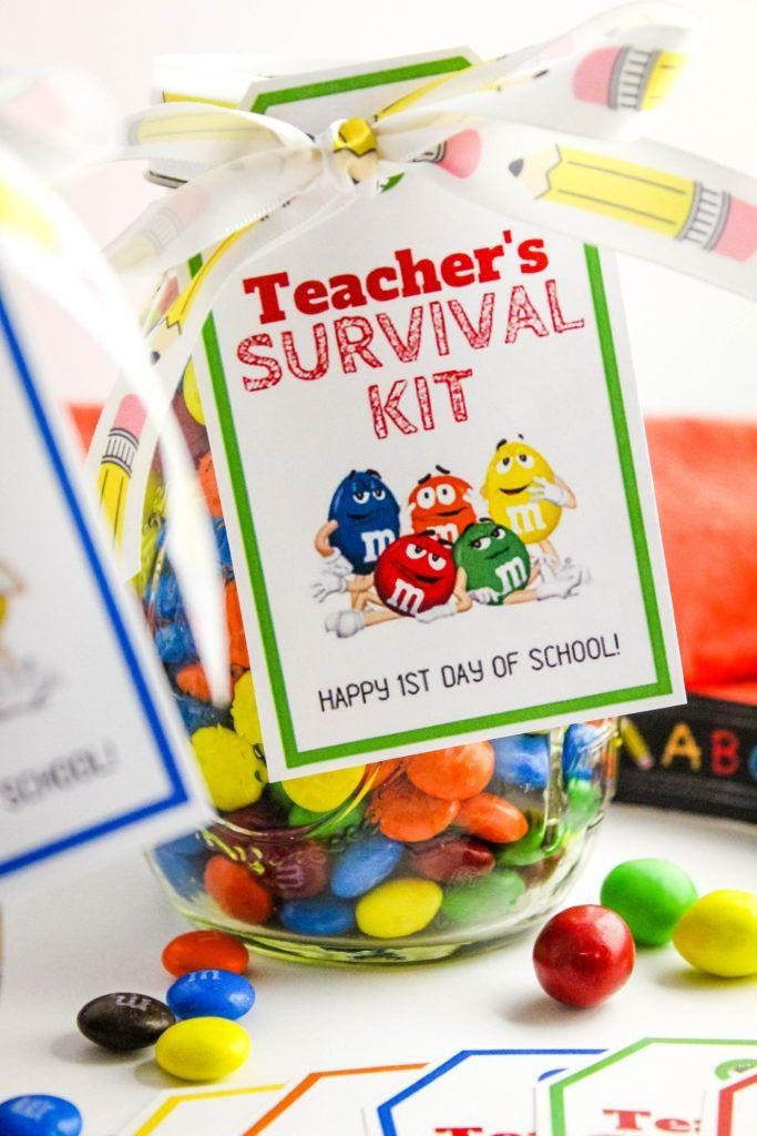photograph relating to Teacher Survival Kit Printable referred to as Back again toward Faculty Lecturers Survival Package with Absolutely free Printable