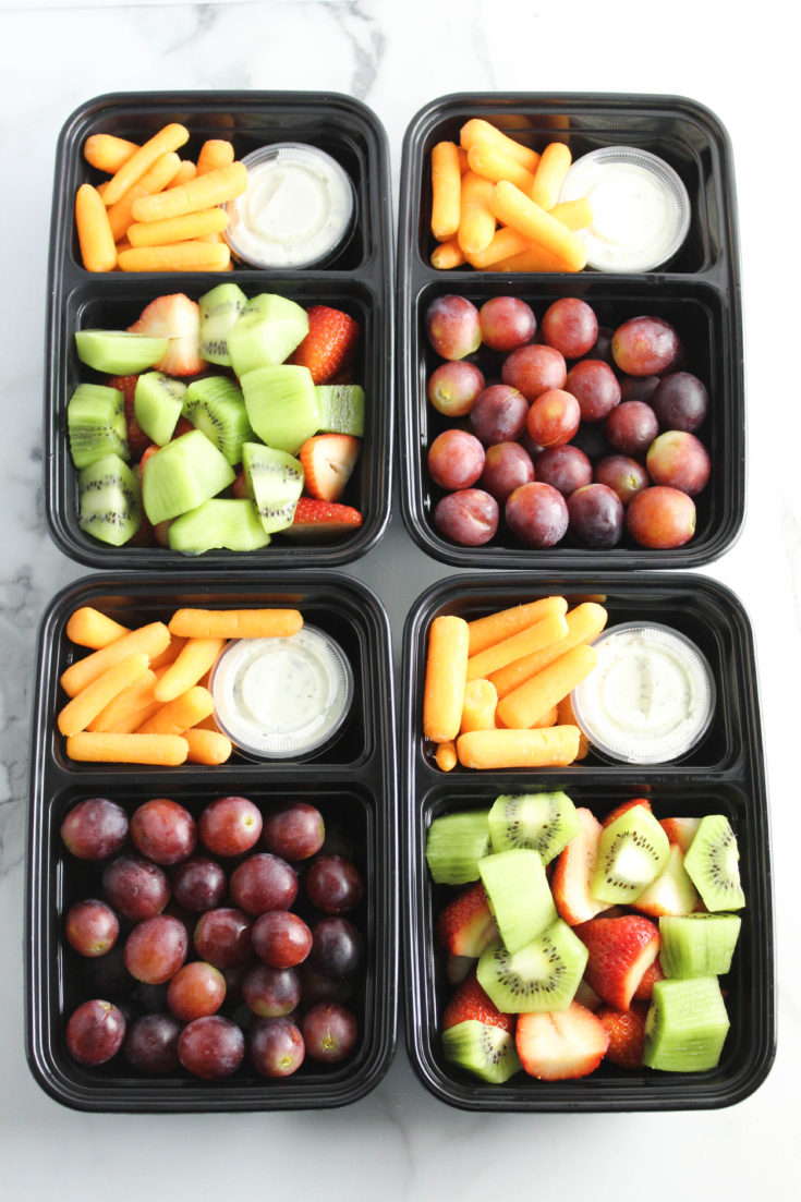 Healthy On The Go Meal Prep Snack Ideas Baking You Happier